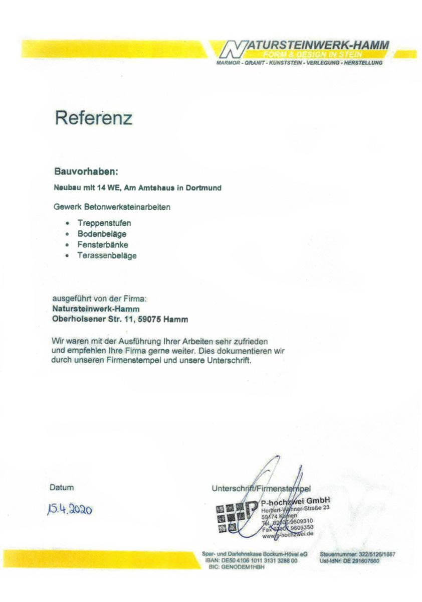 Referenz von P-Hochzwei - Amtshaus in Dortmund